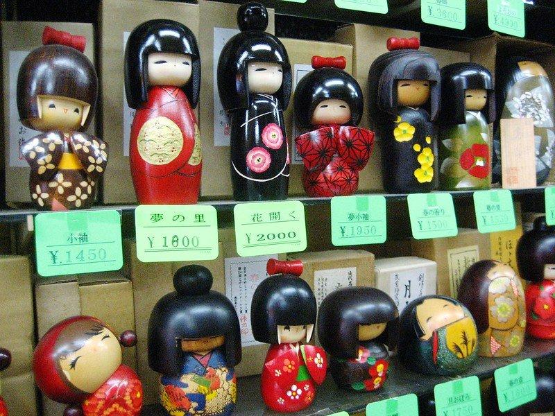 kokeshi dolls by carrie kellenberger