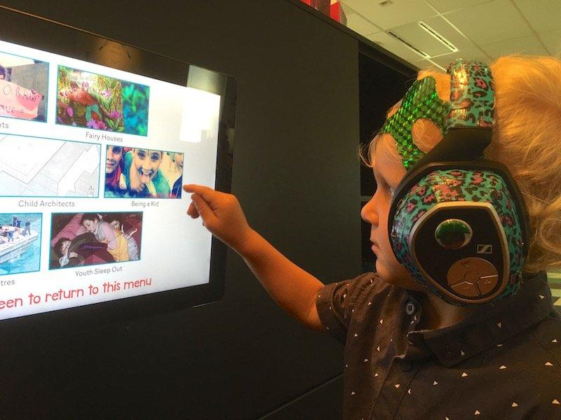 museum of australian democracy interactive screen for kids pic