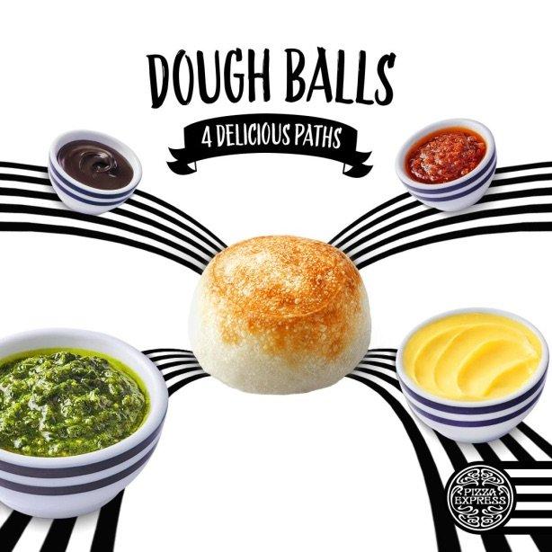 nutella dough balls by fb