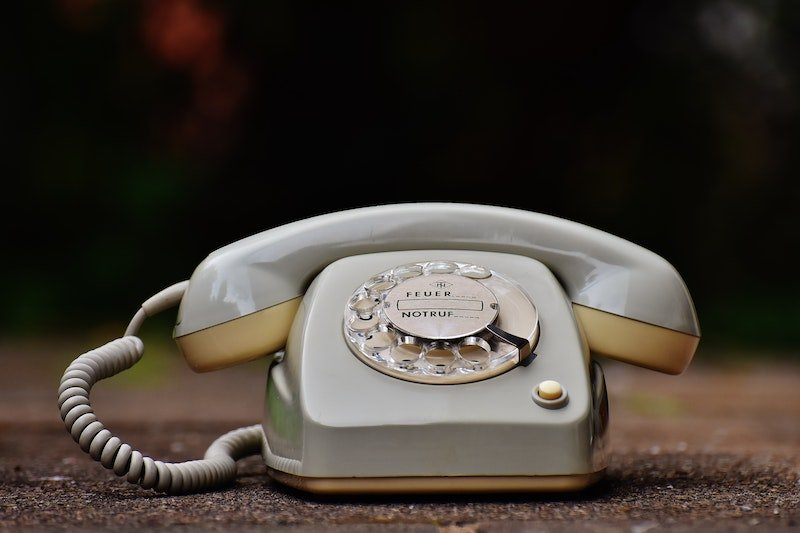 old fashioned dial up phone by pixabay via pexels antique-close-up-cord-dial-209695