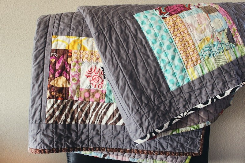 patchwork quilt by jen-theodore