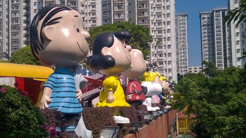 peanuts characters pic by xiquinhosilva