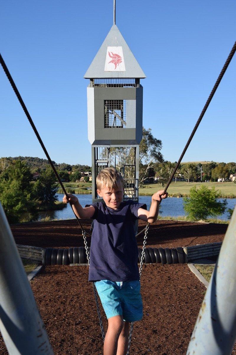 Gordon Playground bridge pic