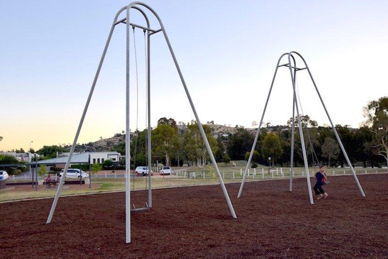 pic - Gordon Playground giant swings