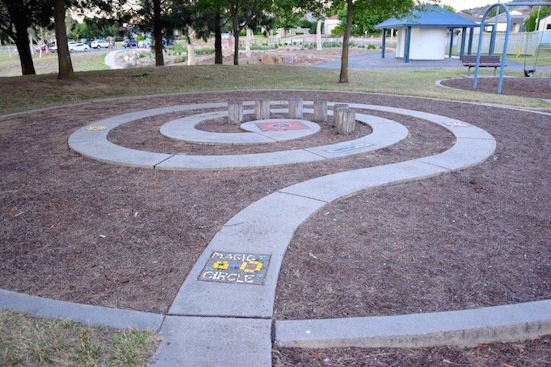 pic - Gordon Playground magic spiral