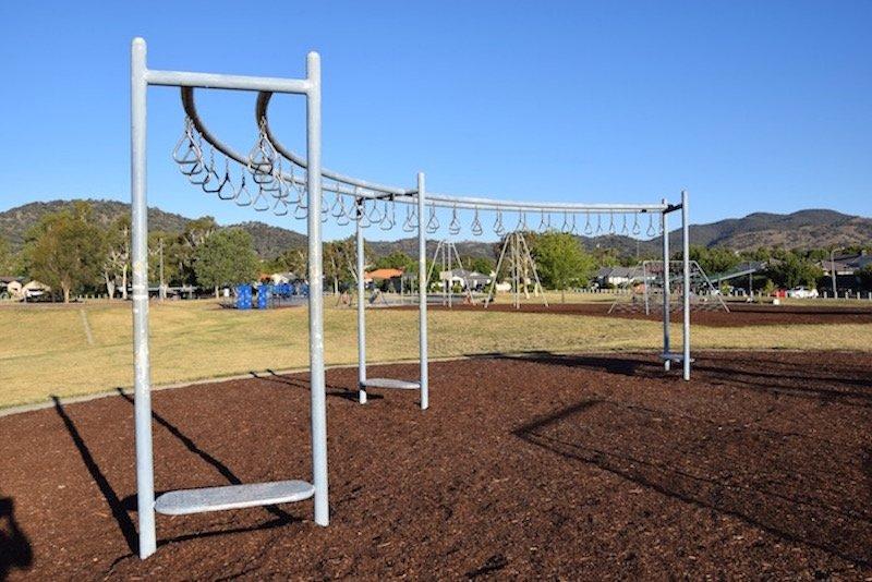 pic - Gordon Playground monkey bars
