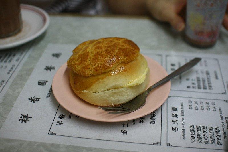 pineapple bun by dennis wong