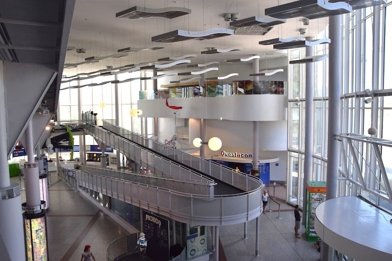 questacon canberra building interior pic
