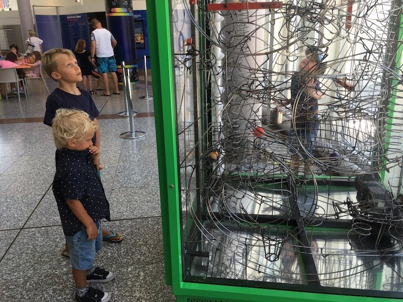 questacon canberra green cage pic