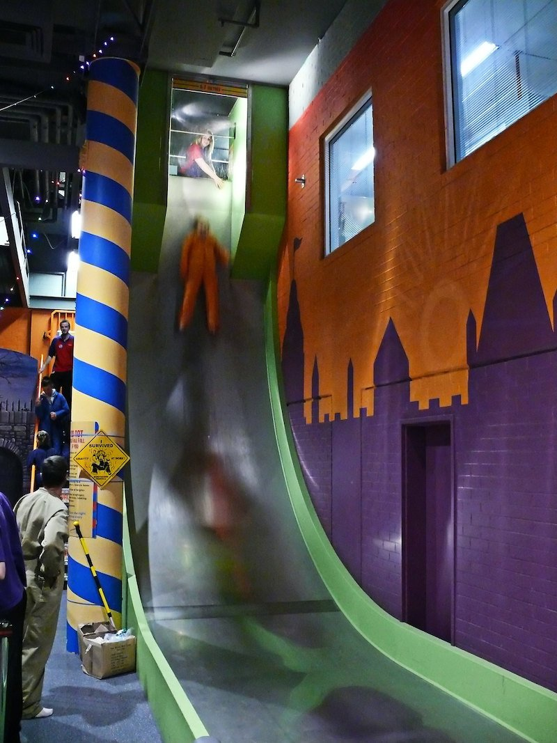 questacon free fall slide pic by nico nelson flickr