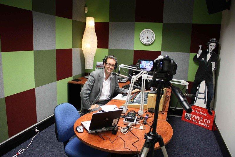 radio announcer ben starr by steven ridgeway flickr