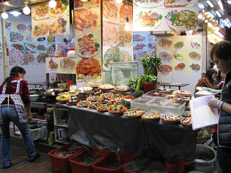 seafood eatery on temple street night markets by shankar s