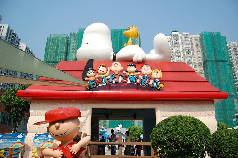 snoopy house at snoopys world sha tin pic by edwin.11