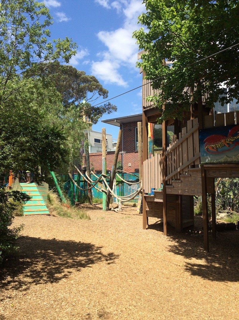 st kilda adventure playground melbourne cubby houses pic