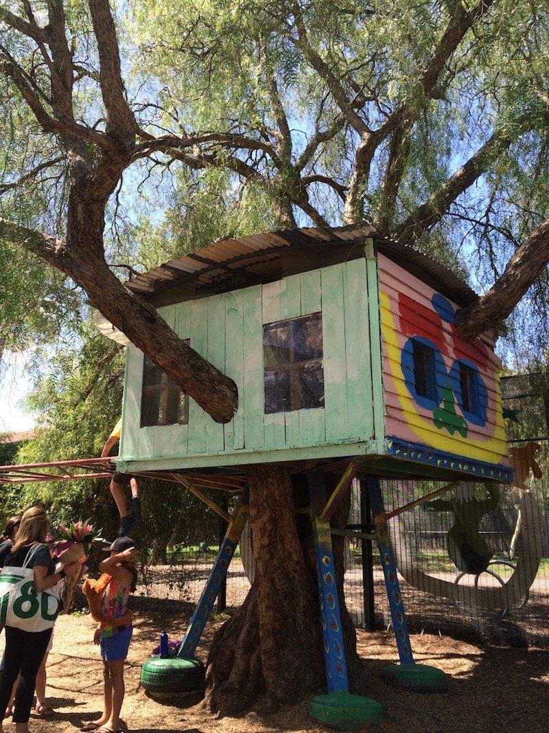 st kilda adventure playground melbourne treehouse pic