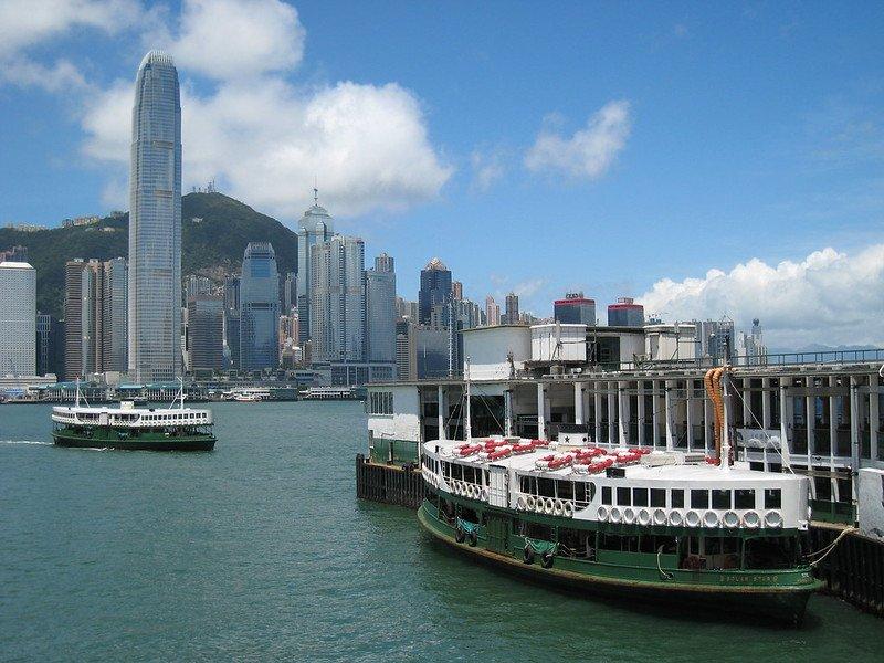 star ferries in hong kong by mark pegrum