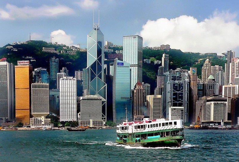 star ferry in hong kong by bernard spragg nz