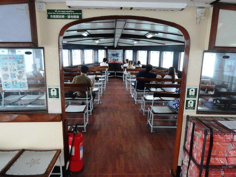 star ferry interior by fabio achilli