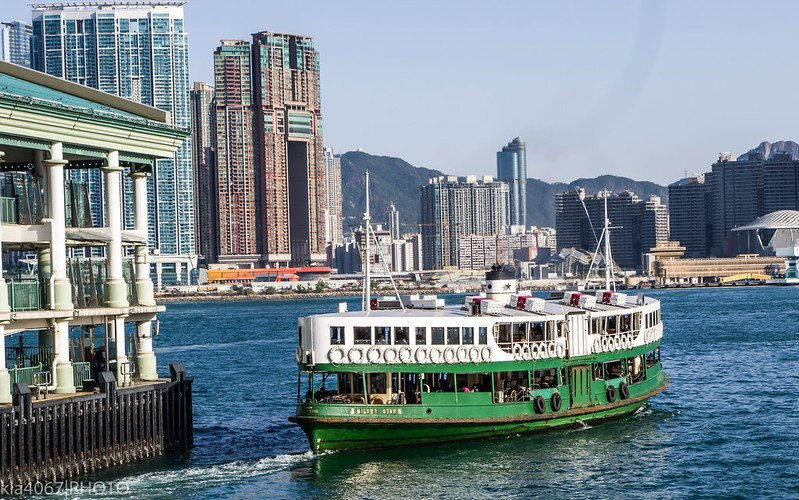 star ferry to kowloon by ron reiling