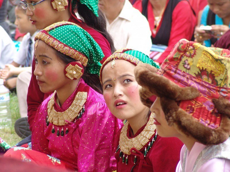tibetan dancers by chris walker flickr