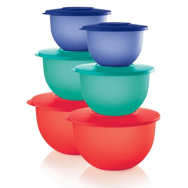 tupperware impressions bowls