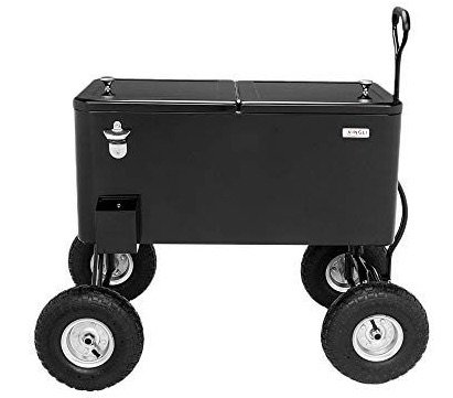 vingli wagon rolling cooler cart pic