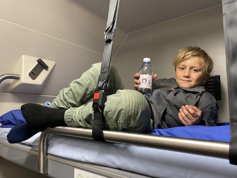 Image - Helsinki to rovaniemi train bunk bed