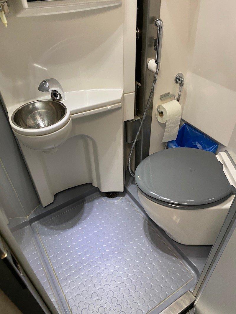 Image - Helsinki to rovaniemi train cabin toilet