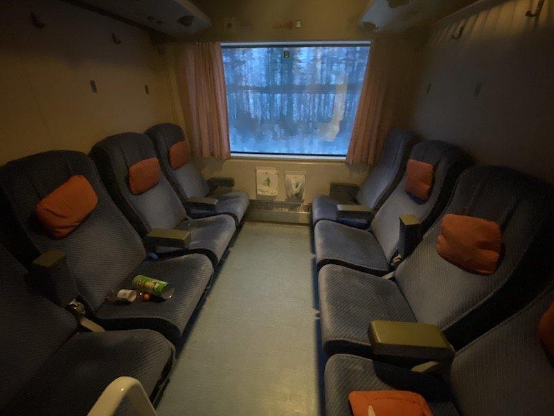 Image - Helsinki to rovaniemi train carriage