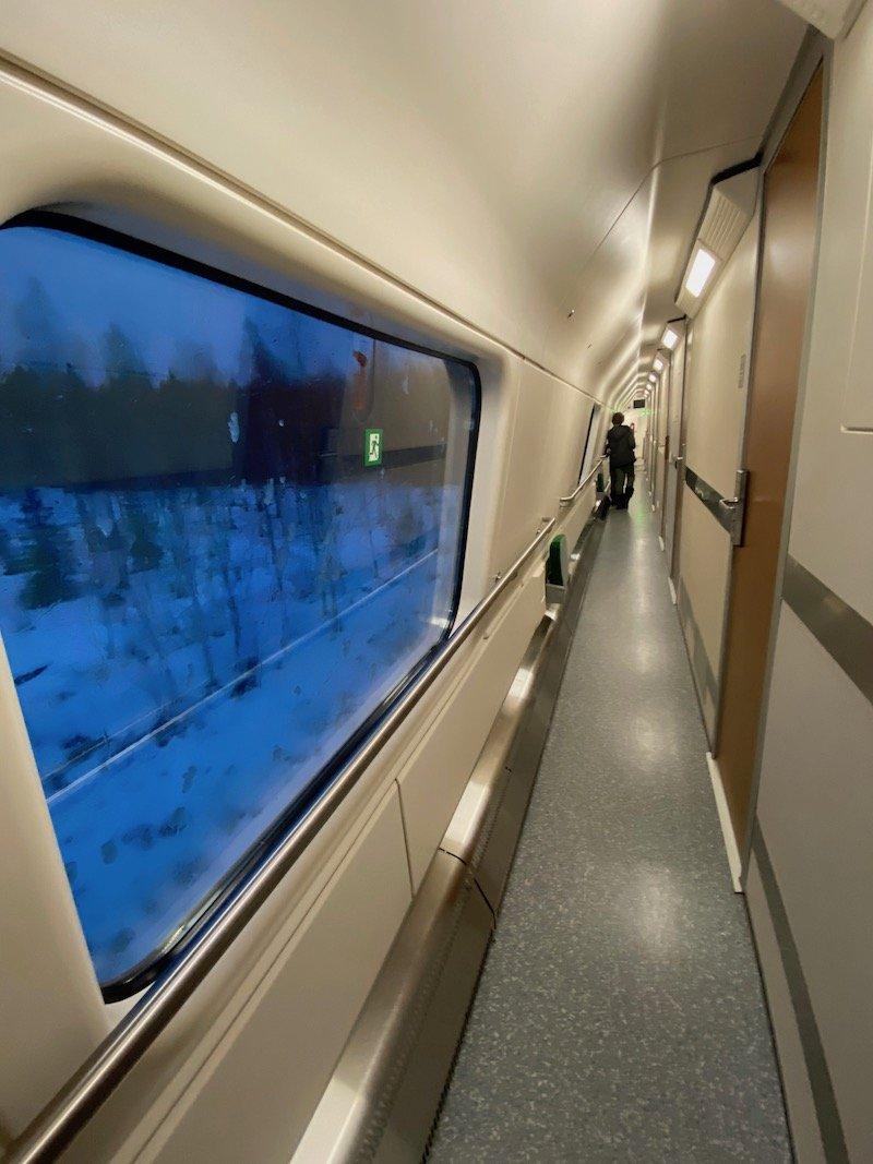 Image - Helsinki to rovaniemi train corridor