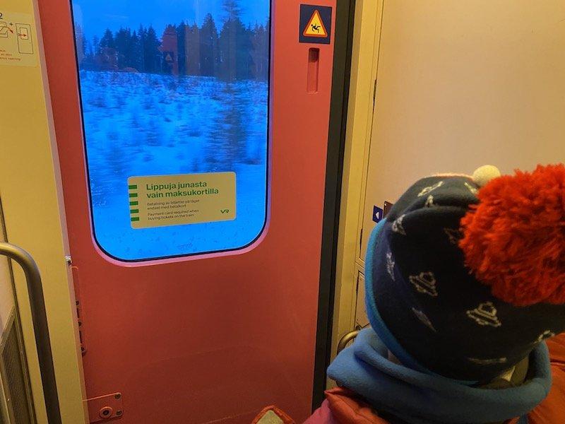 Image - Helsinki to rovaniemi train exit
