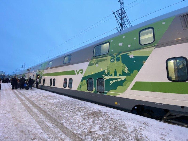Image - Helsinki train to rovaniemi