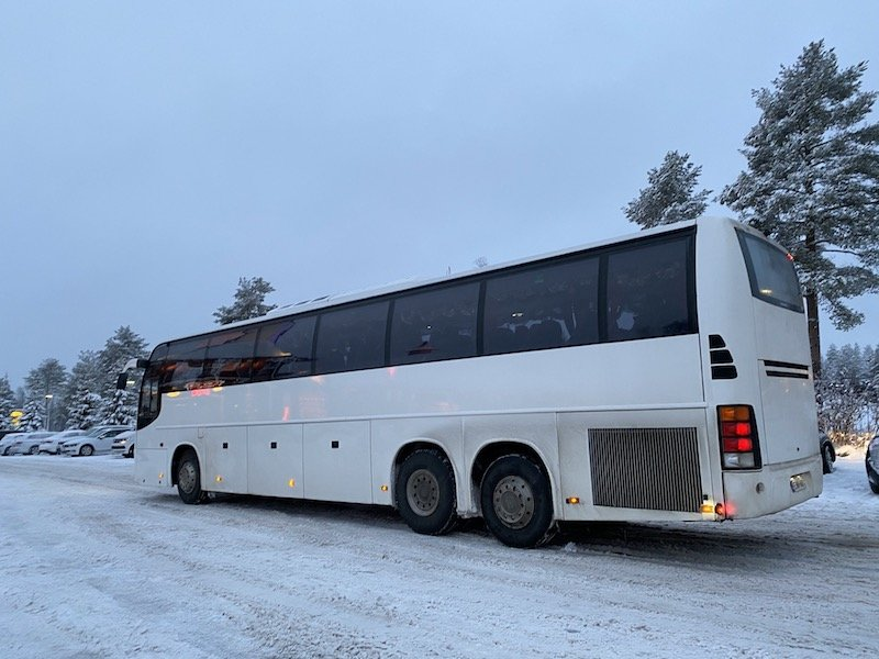 Image - Lapland elves bus