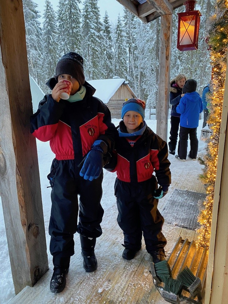 Image - waiting to meet santa claus at secret forest of joulukka