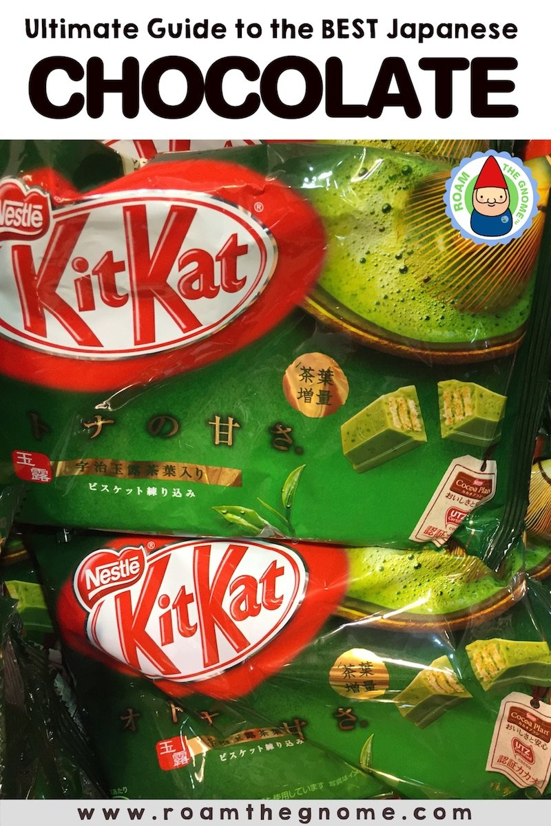 PIN 1 - japanese chocolate kitkat