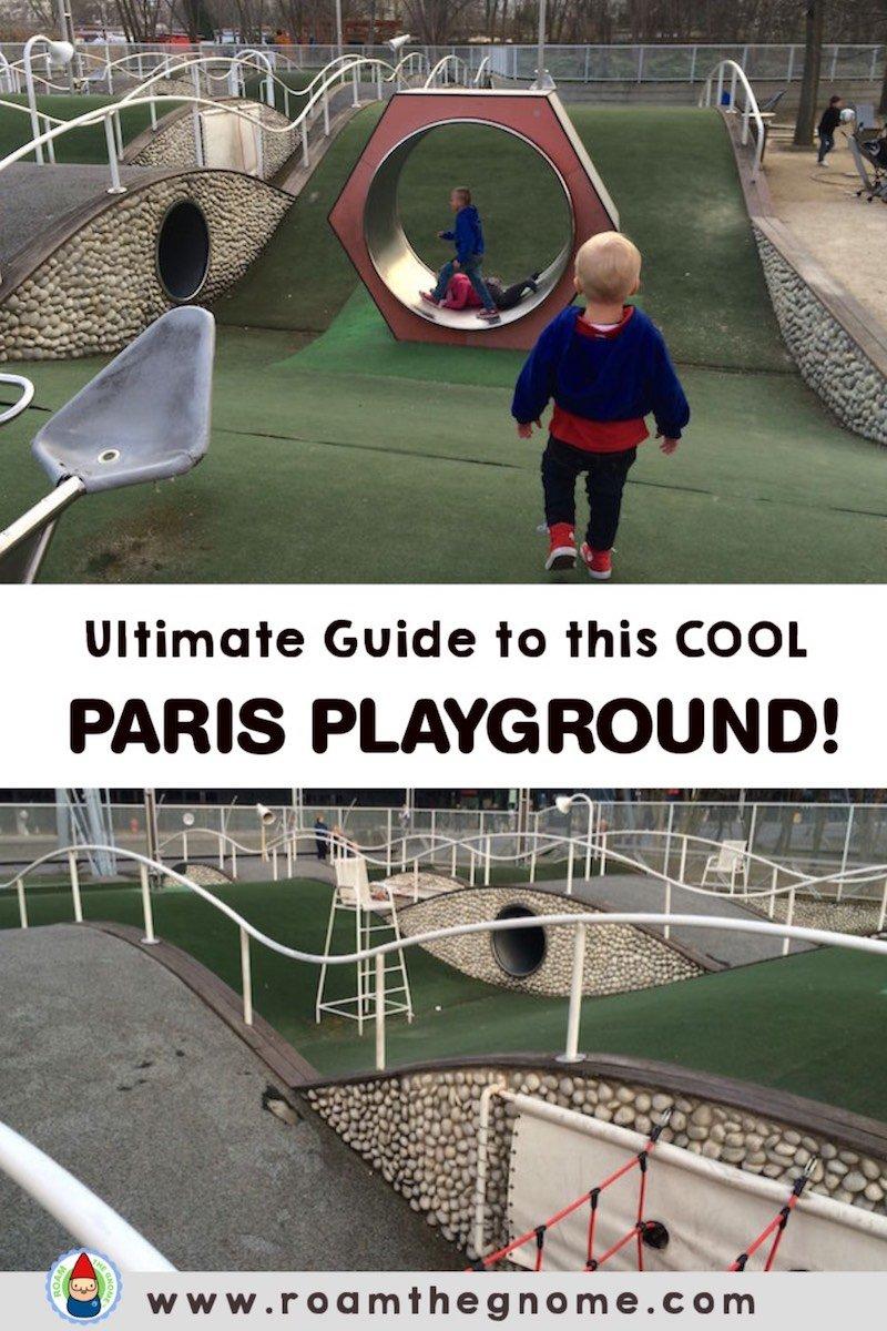 PIN parc de la villette playground sig 800