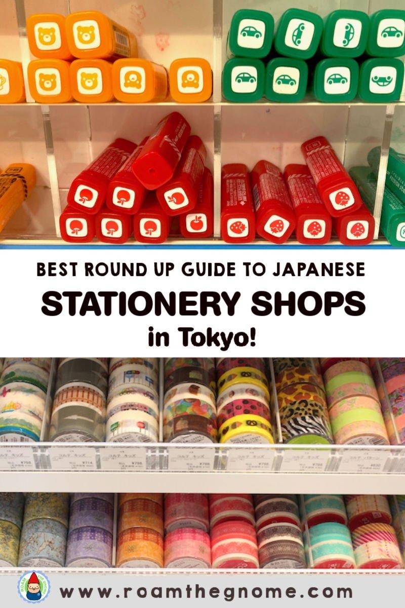 PIN round up japanese stationery shops