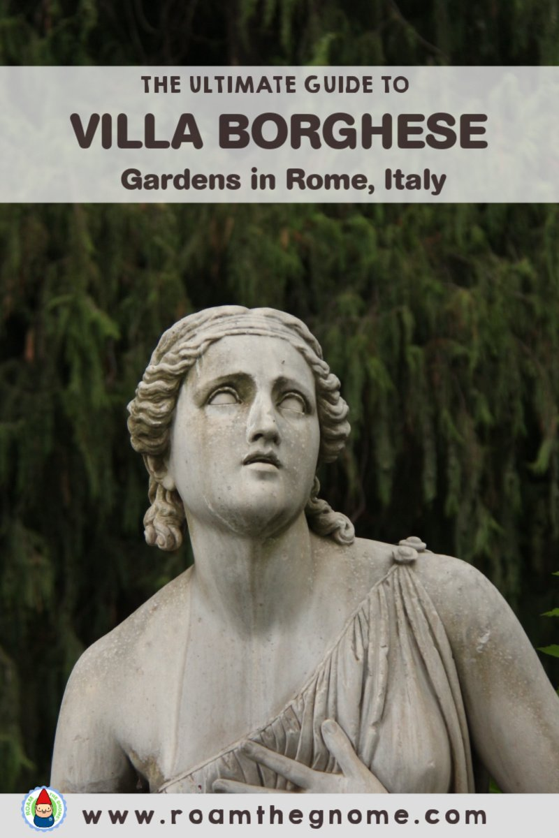 PIN villa borghese gardens round up