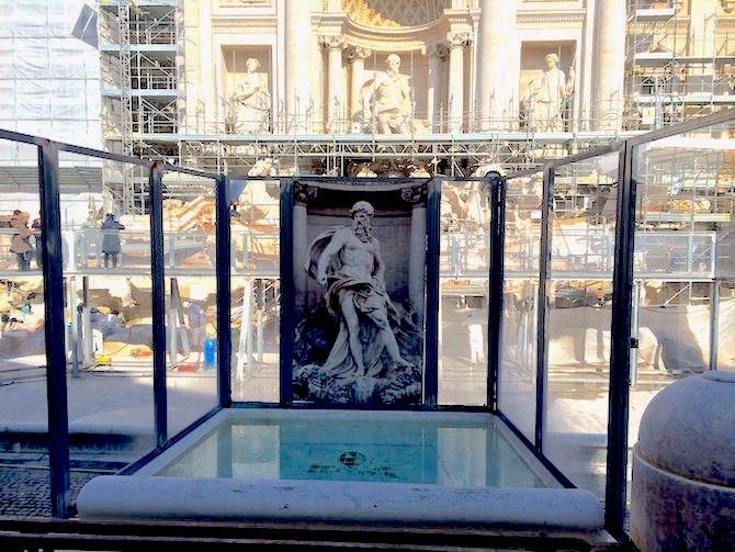 Trevi fountain wishing well 2015