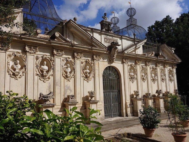 aviary and secret gardens at villa borghese pic by antonino mancuso