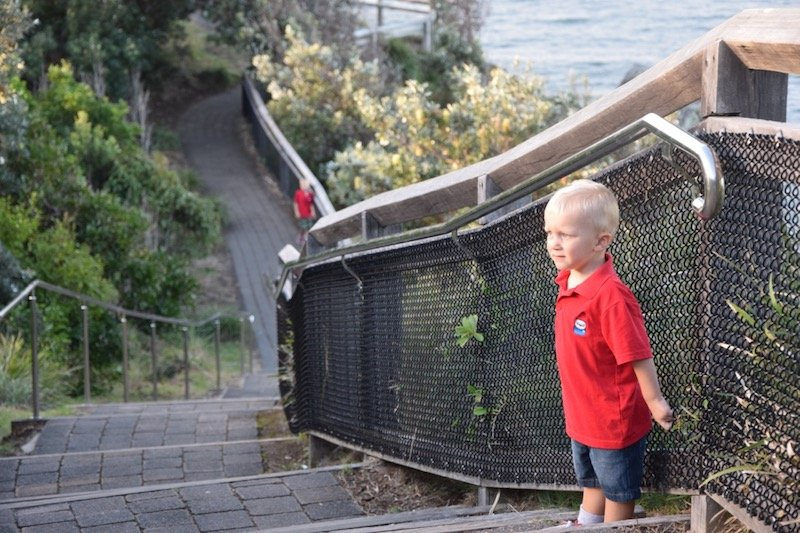 byron bay lighthouse walk stairs pic