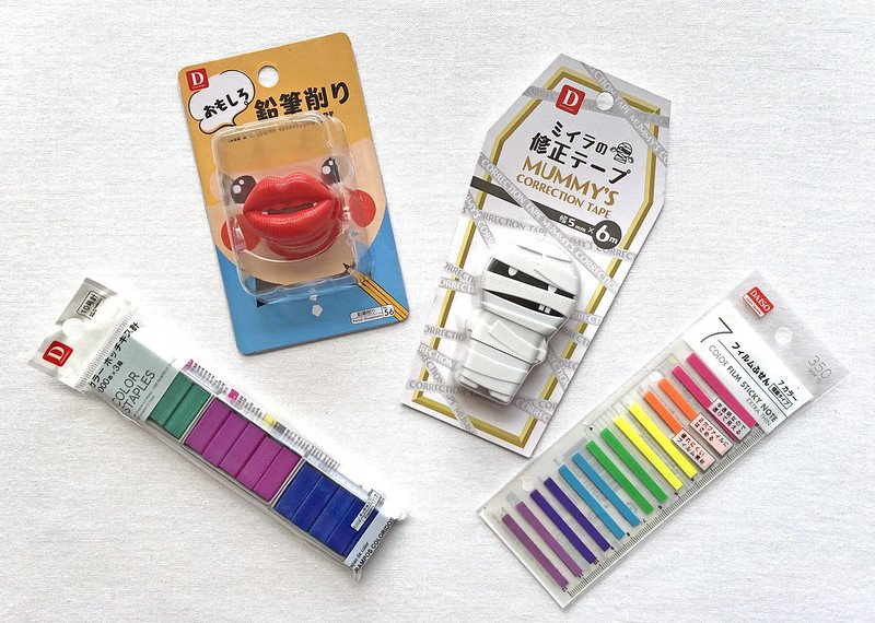 daiso stationery by doing