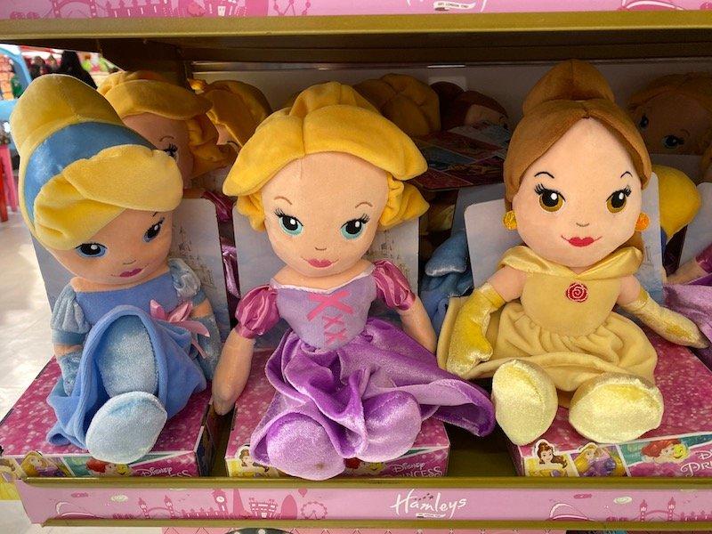 disney dolls at hamleys pic