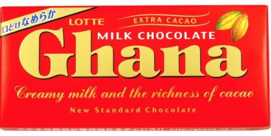ghana chocolate lotte pic