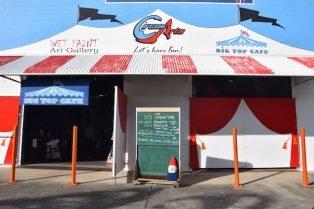image - circus arts byron bay entrance