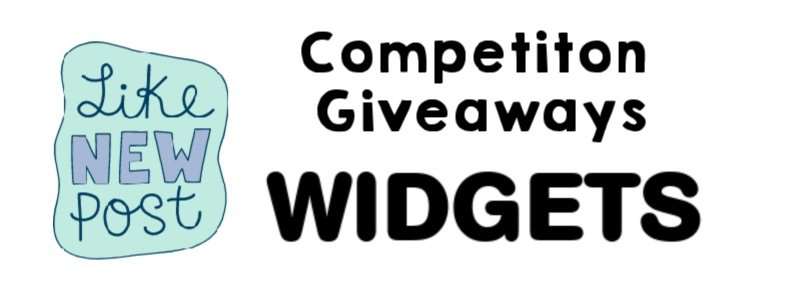 image - competition giveaways widget