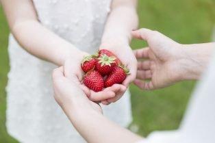 image - healthy snacks strawberries