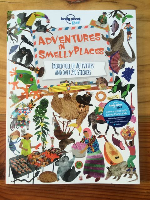 image - lonely planet travel books adventures in smelly places