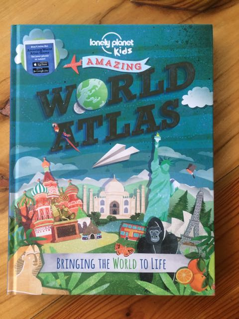 image - lonely planet travel books for kids world atlas