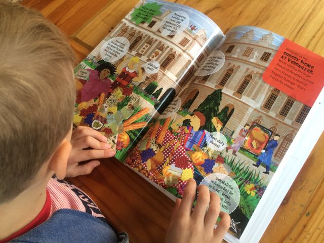 image - reading lonely planet travel books for kids